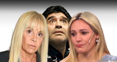 Maradona entre Claudia e Rocío: guerra de egos nos bastidores da despedida ao ídolo