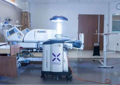 LightStrike é o nome do robô que elimina coronavírus