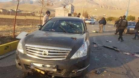 Mohsen Fakhrizadeh foi atacado em seu carro com explosivos e armas de fogo