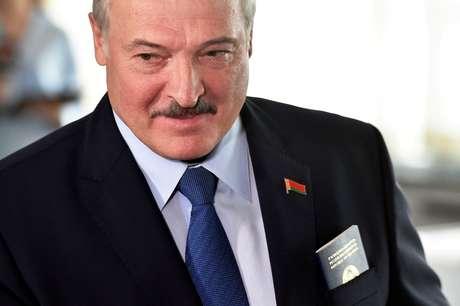 Alexander Lukashenko, líder de Belarus  09/08/2020 Sergei Gapon/Pool via REUTERS
