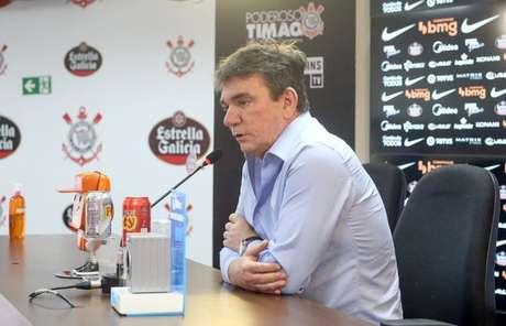 Andrés Sanchez garantiu que seu sucessor terá paz e receitas no Corinthians (Foto: Rodrigo Coca/Ag. Corinthians)