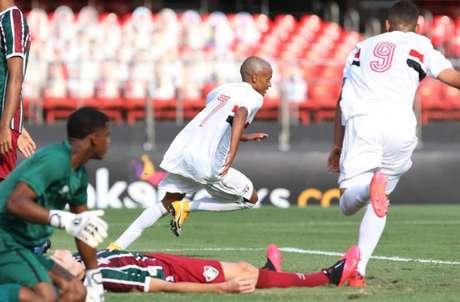 São Paulo venceu o Fluminense por 2 a 1 e saiu na frente por uma vaga na final (Foto: Rubens Chiri/saopaulofc.net)