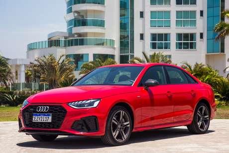Novo Audi A4: três versões com preços entre R$ 229.990 e R$ 304.990.