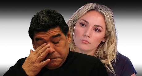 Pouco antes de morrer, Maradona pediu para ver Rocío, e ela não foi