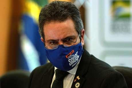 Secretário Executivo do Ministério da Saúde, Coronel Antônio Élcio Franco Filho