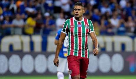 Kayke em ação pelo Fluminense (Foto: LUCAS MERÇON / FLUMINENSE F.C.)