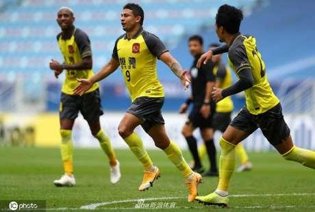 Guangzhou garantiu a primeira vitória na Champions da Ásia - Divulgação / Guangzhou