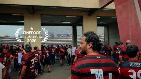 O documentário 'Catarse' retrata a decisão entre Flamengo e River Plate, em Lima, em 2019 (Foto: Divulgação)