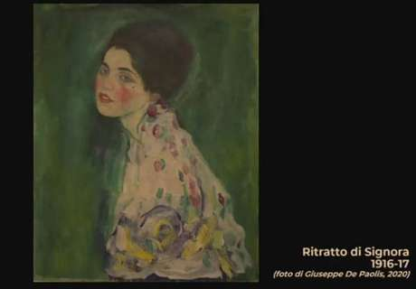 'Retrato de uma Senhora', de Gustav Klimt