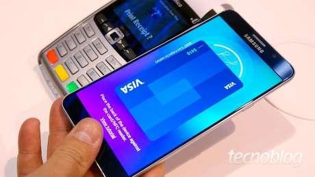 Pagamento por aproximação (imagem: Tecnoblog)