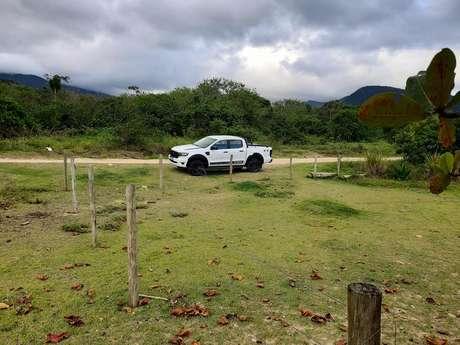 Com pneus especiais desenvolvidos pela Pirelli para uso 60% off-road, Ranger Storm é bem verstátil.