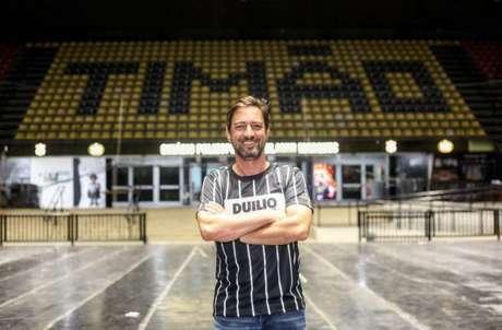 Duílio comandará o Corinthians de 2021 à 2023 (Foto: Rodrigo Coca/Agência Corinthians)