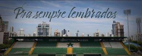 Reprodução/Facebook Associação Chapecoense de Futebol