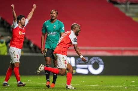 Braga conseguiu resultado importante no Campeonato Português (Foto: Divulgação/Braga)