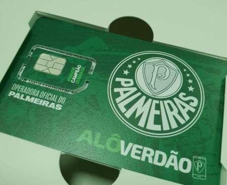Palmeiras vai lançar a própria operadora oficial de celulares