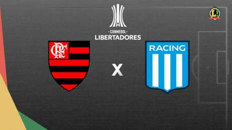 Flamengo e Racing decidem uma vaga nas quartas de final da Copa Libertadores (Foto: Lance!)