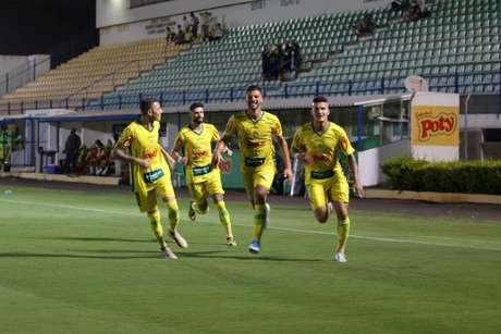 O time do interior paulista é o segundo colocado do grupo 7 da Série D, com 26 pontos (Foto: Marcos Freitas/Agência Mirassol)