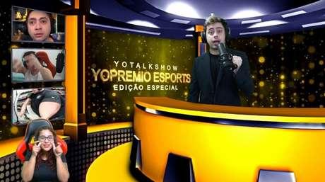 """Felipe """"YoDa"""" Noronha apresentou o YoPrêmio Esports, no último domingo (Foto: Reprodução/Divulgação)"""