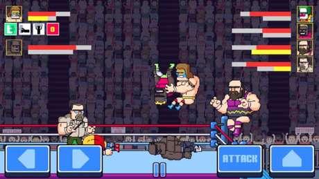 Rowdy City Wrestling (Imagem: Brad Erkkila/Colin Lane Games)