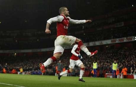 Wilshere foi revelado no Arsenal (Foto: Adrian Dennis / AFP)