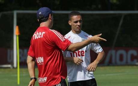 Antony foi vendido ao Ajax em fevereiro deste ano (Foto: Érico Leonan/saopaulofc.net)