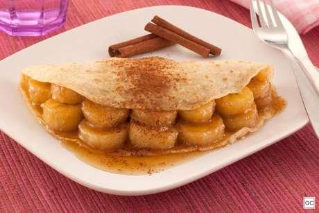 Guia da Cozinha - Panqueca de aveia, banana e mel