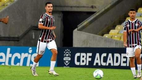 Martinelli agradou em seu primeiro jogo como profissional no Fluminense (MAILSON SANTANA/FLUMINENSE FC)