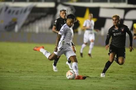 Marinho comentou sobre a partida desta terça-feira (Foto: Ivan Storti/Santos FC)