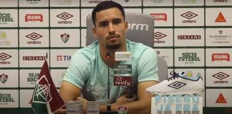 Martinelli fez sua estreia como profissional no Fluminense - Reprodução - Flu TV