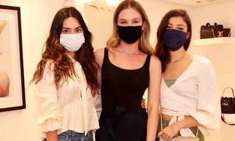Thaila Ayala, Fiorella Mattheis e Sophie Charlotte (Foto: @fiorellamattheis/Instagram/Reprodução)