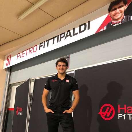 Pietro Fittipaldi: finalmente terá sua chance na equipe Haas.