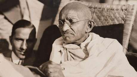 Mahatma Gandhi foi um dos vegetarianos mais famosos da história
