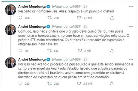 Segundo ministro, há um 'processo de perseguição' contra Ana Paula Valadão