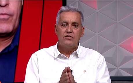 Mauro Naves colocou suas fichas no Palmeiras chegando na final (Foto: Reprodução/Fox)