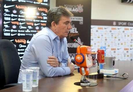 Andrés ficou revoltado com as decisões da arbitragem contra o Corinthians (Foto: Rodrigo Coca/Ag. Corinthians)