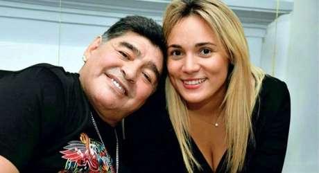 Maradona viveu uma midiática relação de amor e ódio com Rocío Oliva