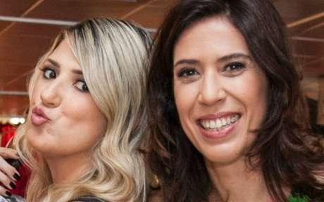 Dani Calabresa e Maria Clara Gueiros