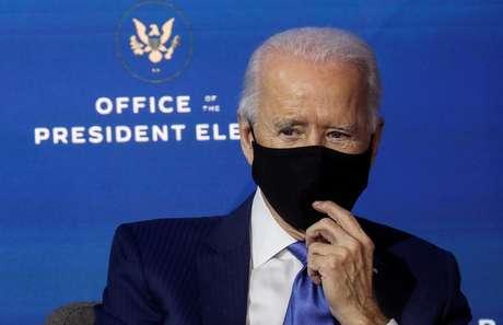 Presidente eleito dos EUA, Joe Biden 01/12/2020 REUTERS/Leah Millis