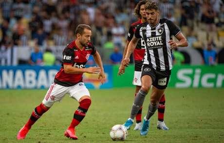 Botafogo e Flamengo medem forças neste sábado (Foto: Alexandre Vidal / Flamengo)