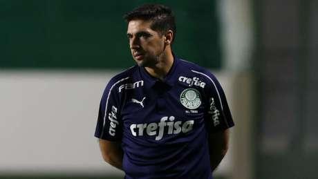 Abel Ferreira está com coronavírus e em isolamento (Foto: Cesar Greco/Palmeiras)