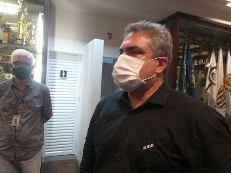 Orlando Rollo não é candidato a presidência do Santos no próximo triênio (Foto: Fábio Lázaro/Lancepress)