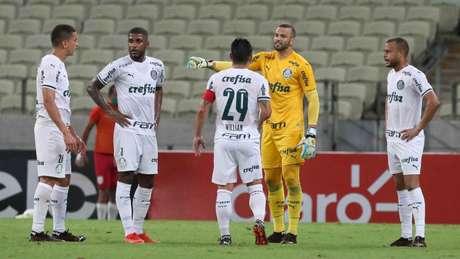 A última partida na qual o Palmeiras não contou com Abel Ferreira foi contra o Ceará (Foto: Cesar Greco/Palmeiras)