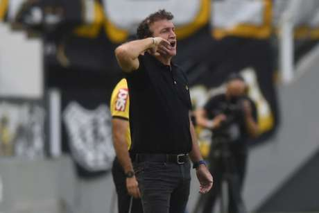 Cuca lamentou o empate, por achar que poderia ter levado o Santos a vitória (Foto: Ivan Storti/Santos FC)