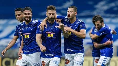 """Rafael Sóbis foi decisivo mais uma vez para a Raposa e está """"justificando"""" a contratação pela Raposa-(Gustavo Aleixo/Cruzeiro)"""