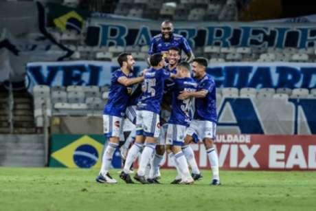 A Raposa conseguiu um placar elástico e voltou a sonhar com o G4-(Gustavo Aleixo/Cruzeiro)