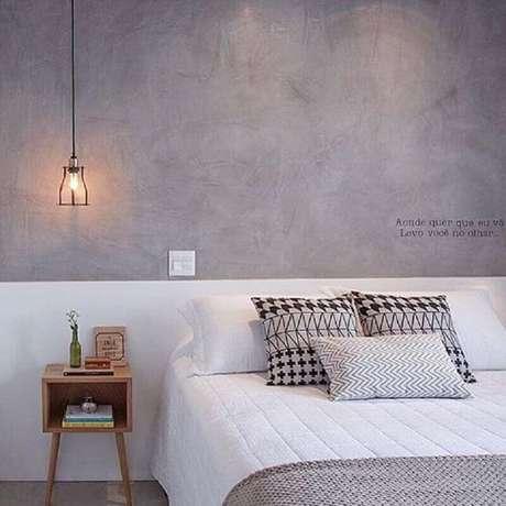 7. Sempre mantenha o quarto minimalista muito bem organizado – Foto: Espaço Mulher
