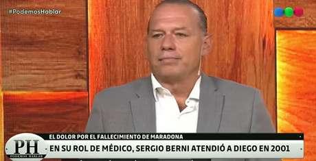 Dr. Sergio Berni afirma que Maradona não suportava mais a pressão em torno dele