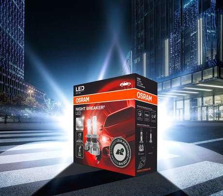 Night Breaker LED H7 da Osram é a primeira lâmpada LED retro ajustada a passar pelos extensos e rígidos procedimentos de teste, tornando-a uma substituição legal para as lâmpadas halógenas H7.