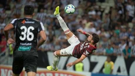 Arrasceta marcou o gol antológico no dia 25 de agosto de 2019 (Foto: Alexandre Vidal/Flamengo)