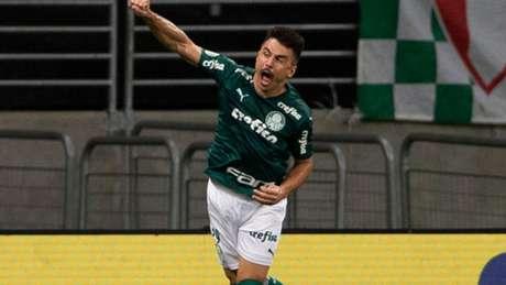 Willian foi o autor do primeiro gol palmeirense (Richard Callis/Fotoarena/Agência Lancepress!)